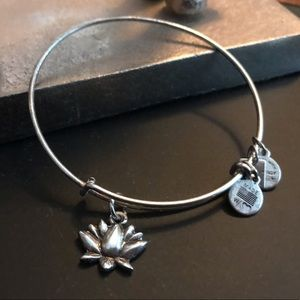 Alex and Ani Lotus Flower Bracelet